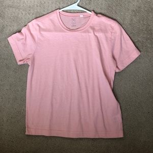 light pink t-shirt